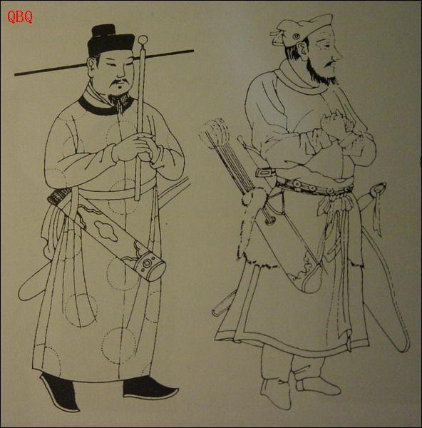 藏族人物铅笔画