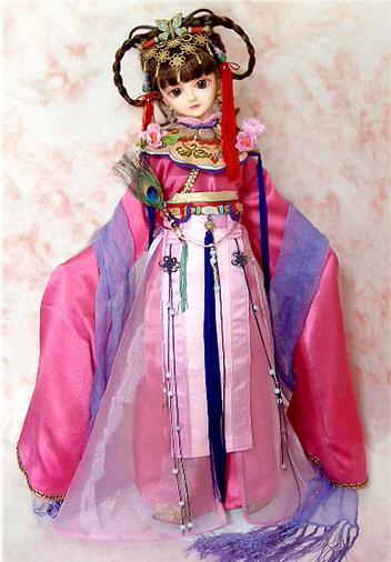 [贴图]可爱的古装娃娃 3.16更新