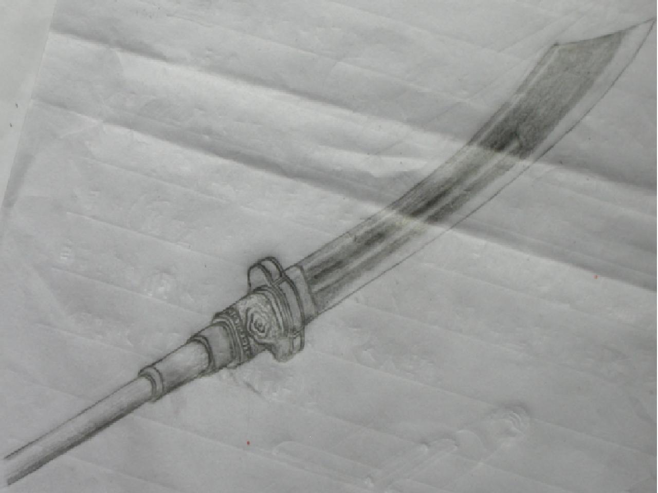 [手绘]手绘几种冷兵器